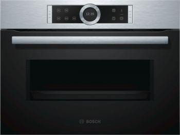 Bosch  CFA634GS1 Microondas con Tecnología Innowave Maxx Apertura