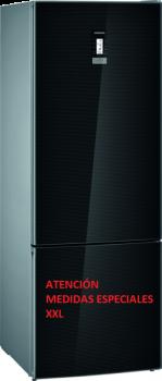 SIEMENS KG56FSBDA Combi cristal negro 193x70x80