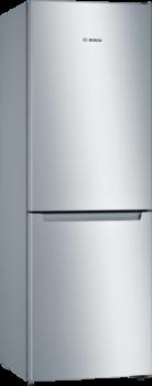 Bosch KGN33NLEA Frigorífico libre instalación 176cm Acero Mate